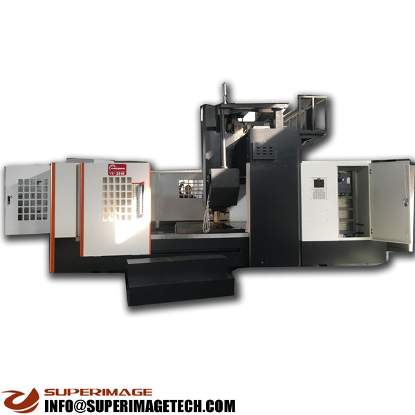 3-axis/4-axis/5-axis 2000*1300mm vertical gantry cnc milling machining center