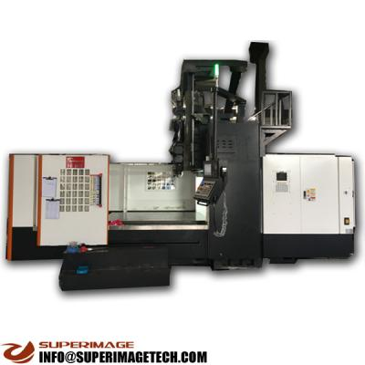 3-axis/4-axis/5-axis 2500*900mm vertical gantry cnc milling machining center