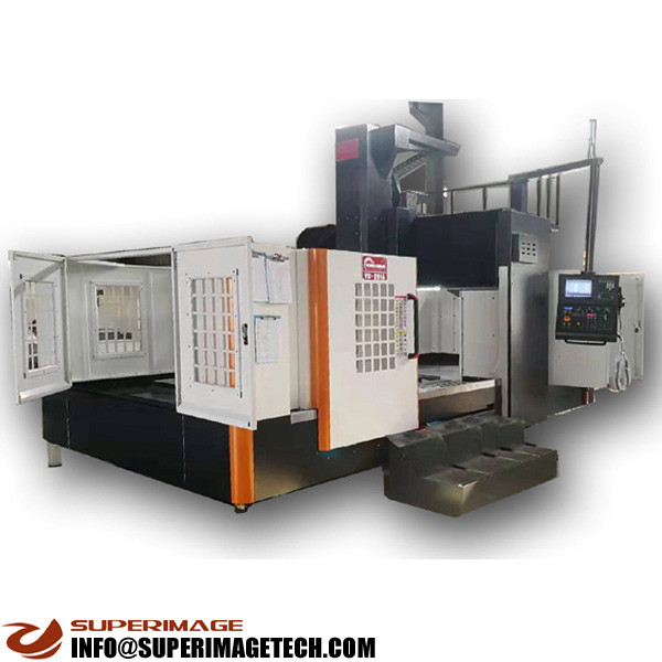 3-axis/4-axis/5-axis 2500*1700mm vertical gantry cnc milling machining center