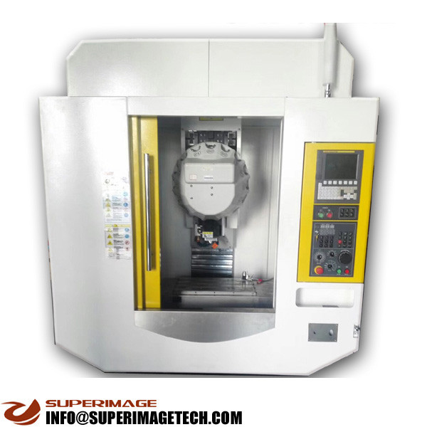 3-axis/4-axis/5-axis 600*400mm cnc drilling & milling machine