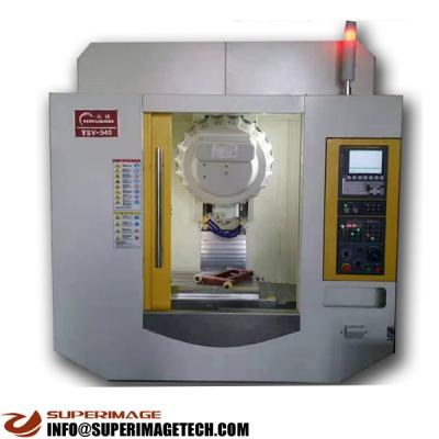 3-axis/4-axis/5-axis 800*420mm cnc drilling & milling machine