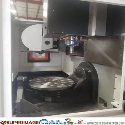Vertical CNC Milling Machine With Horizontal 5-axis Rotatry Table(DMU65)