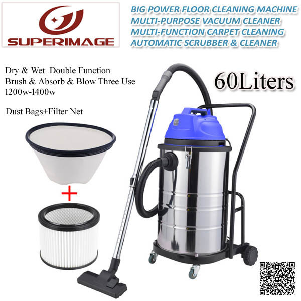 60liter Vacuum Cleaner/60L Floor Vacuum Cleaner