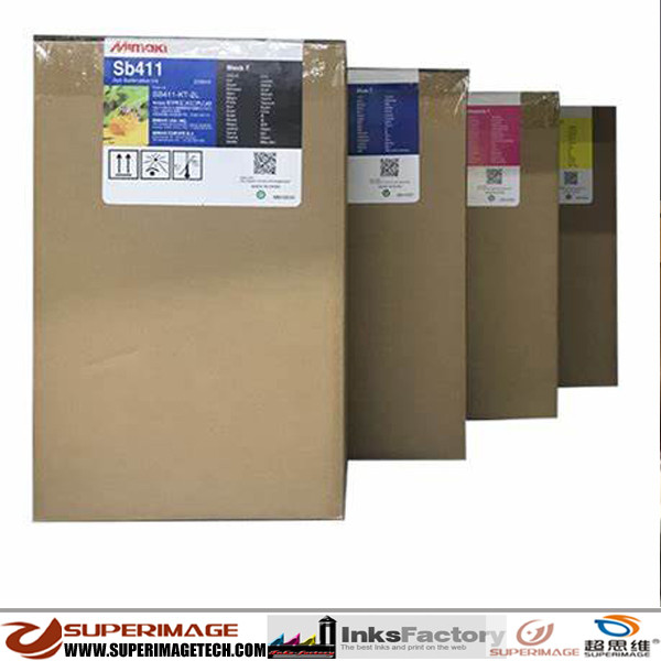 Genuine Original Mimaki SB52 Sublimation Ink 2Liter Bags