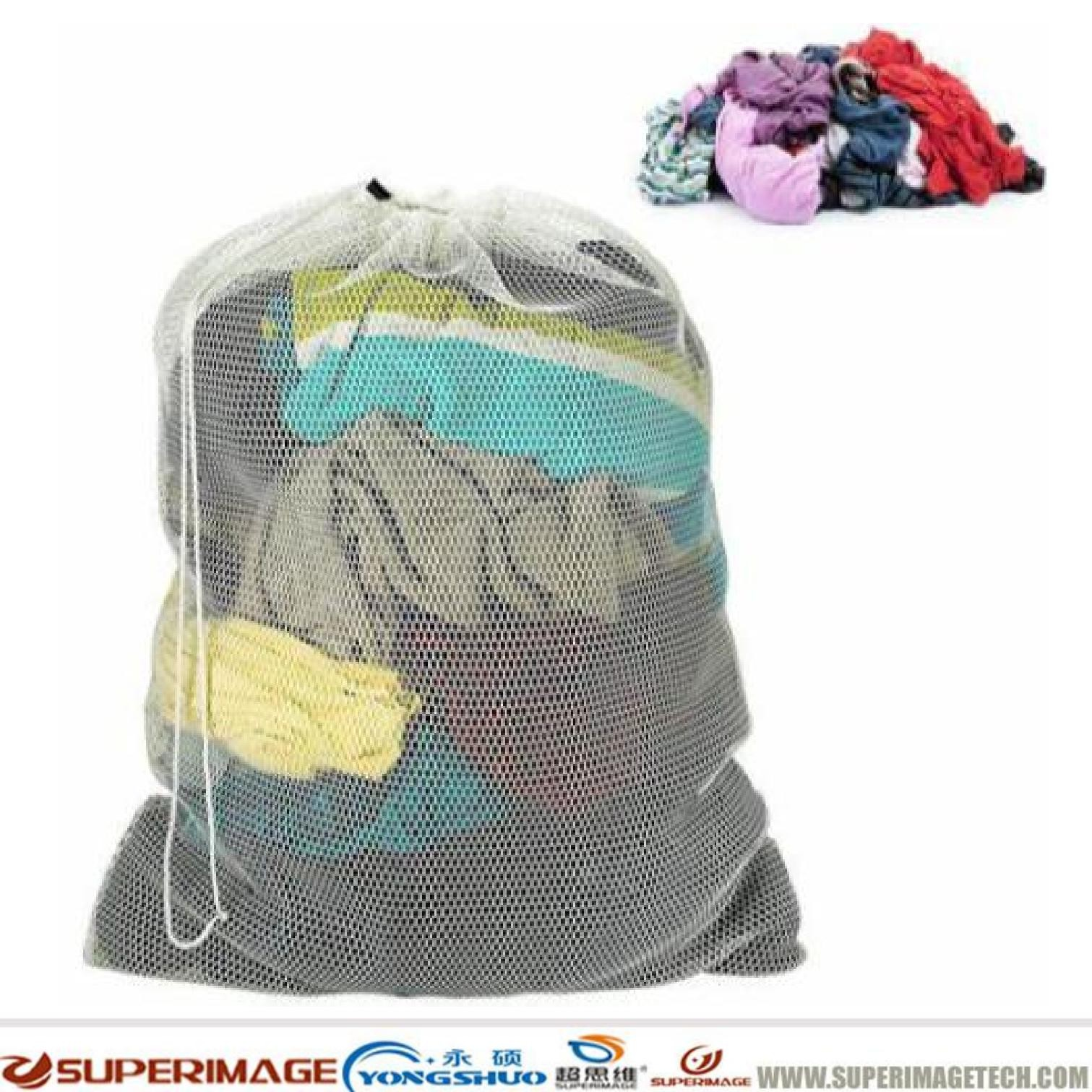 POLYESTER LAUNDRY BAGS/LAUNDRY MESH BAG