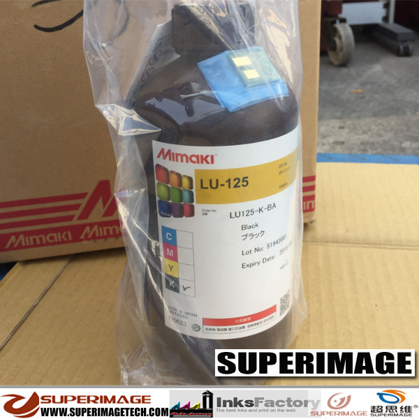 Genuine Original Mimaki LUS-125 UV-LED Ink Lus-125 UV Curable Ink