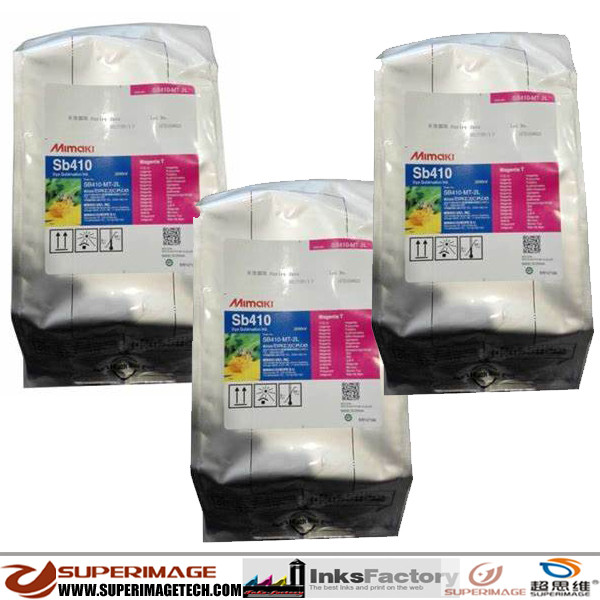 Genuine Original Mimaki SB411 Sublimation Ink 2Liter Bags