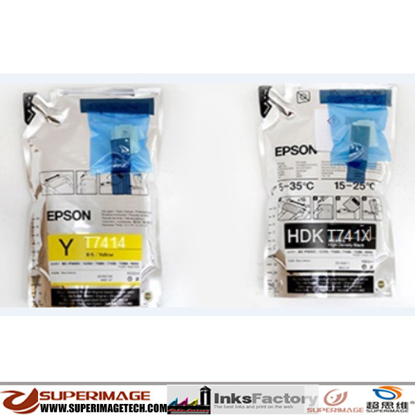 Epson F7000/F7070/F7100/F7170/F7200 Sublimation Ink Bags