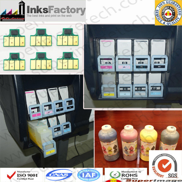 HP L250/L25500 LATEX INK REFILL CARTRIDGE & CHIPS