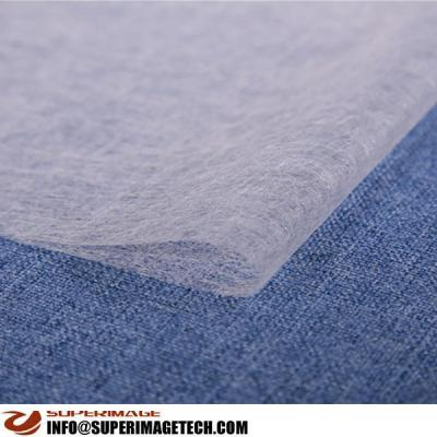 PES Non-woven Lining Cloth/PES Hot Melt Net Film