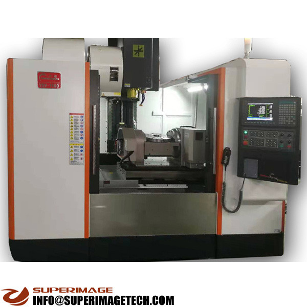 3-axis/4-axis/5-axis 1300*700*700 cnc milling machine(heavry+line rails)